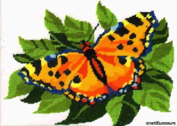 Бабочки пэчворк