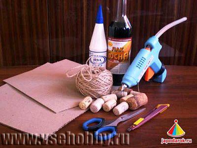 инструменты и материалы для изготовления шкатулки