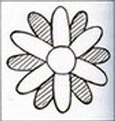 схема сборки цветка кактуса связанного своими руками крючком