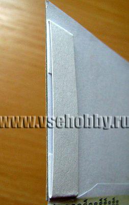 полоска бумаги удерживающая петелька для выдвигающегося элемента скрапбукинг странички