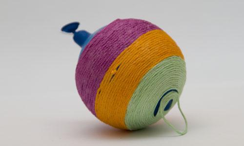 игрушка после сушки но перед тем как из нее извлекут шарик