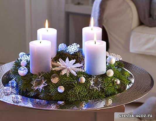 Подарки на Рождество своими руками, Крестик