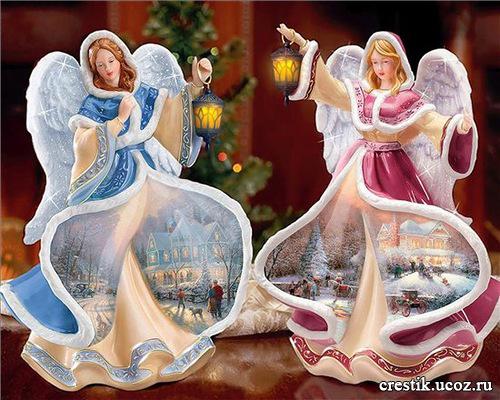Рождественские ангелы в подарок