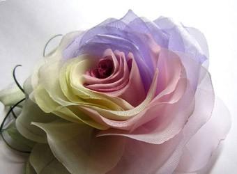 Цветы из органзы - мастер-классы