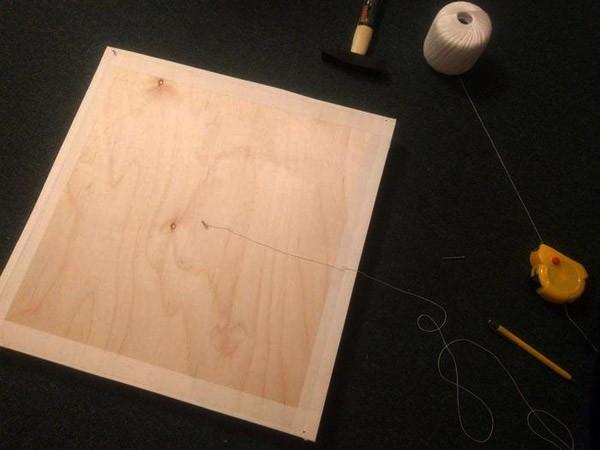 Основа для стринг-арта из картона