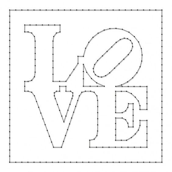 Шаблон LOVE
