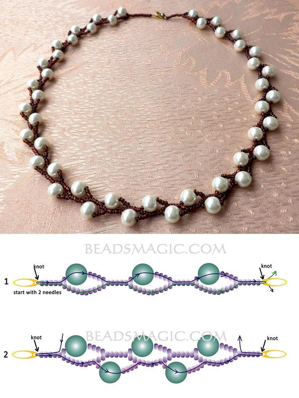 Еще одно изящное ожерелье для мамы
