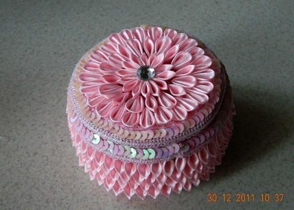 Шкатулка для украшений - подарок кокетке на 8 марта