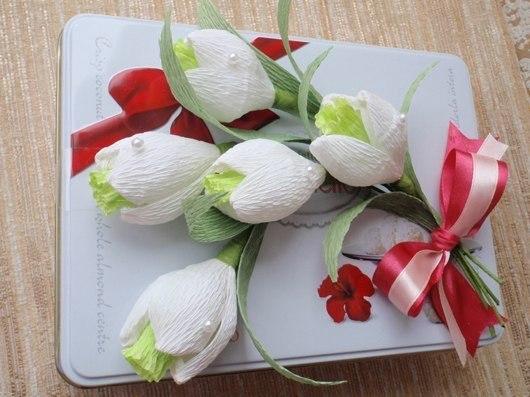 Декорируем коробочку для подарка маме на 8 марта