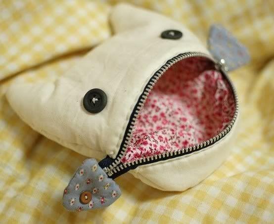 Кошелек-кошечка для тихони