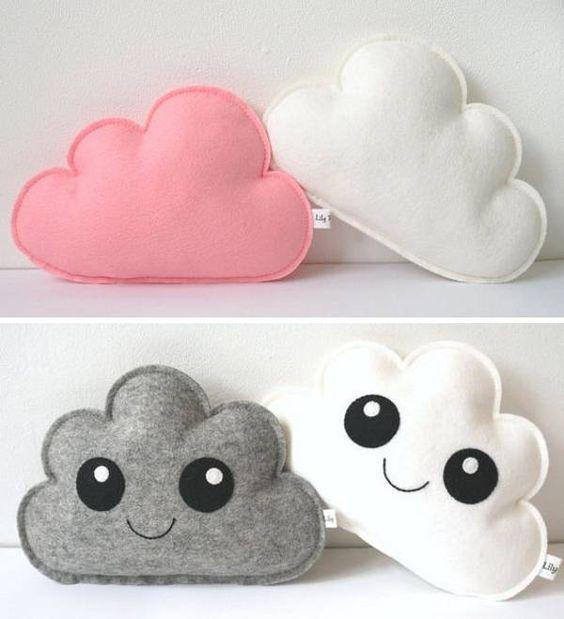 Подушка облачко - kawaii!