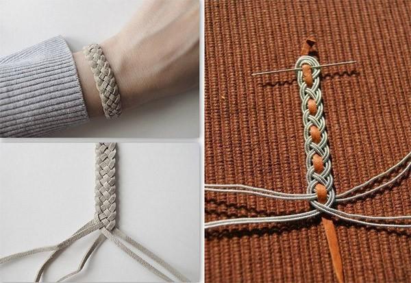 Фенечки из шнуров