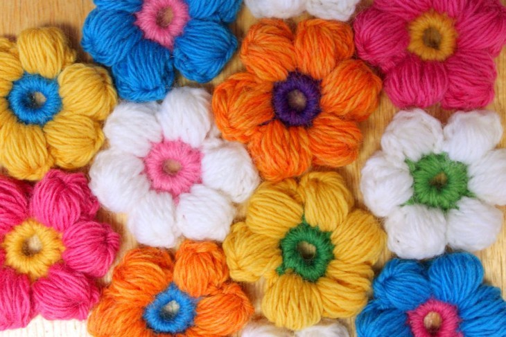 цветы крючком своими руками
