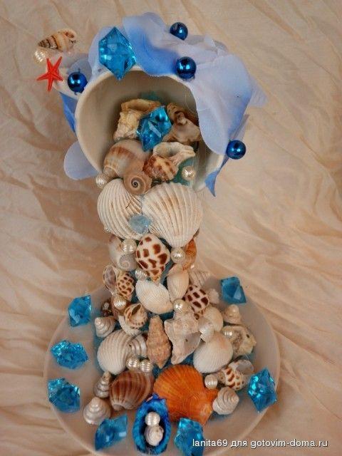 чашечка с дарами моря