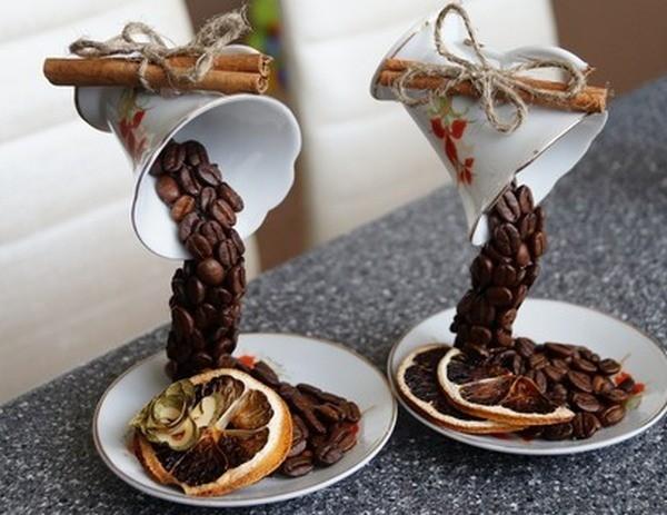 чашки из кофе