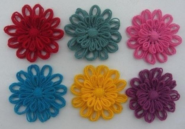 Цветы на станке Тенерифе