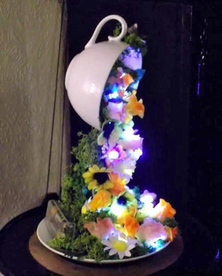 чашка со светодиодами