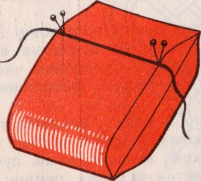 подушка для крепления нитей