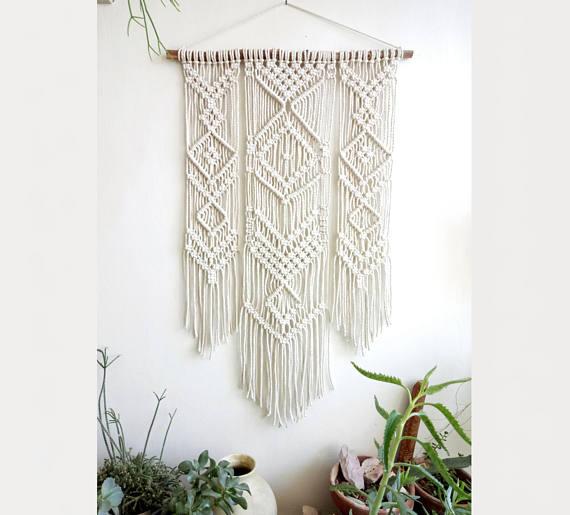 плетеные занавески