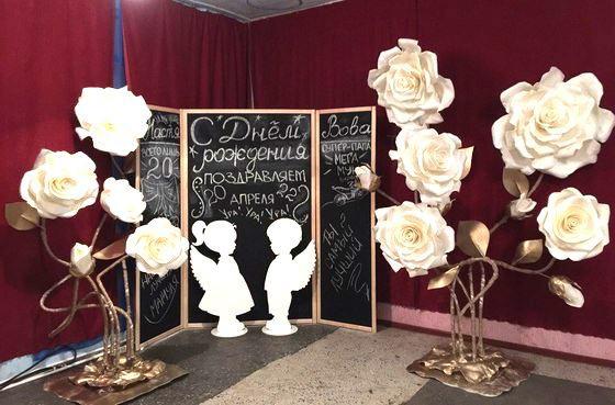 Ростовые цветы уместны не только на свадебных фото