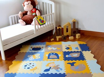 развивающий коврик для детей своими руками