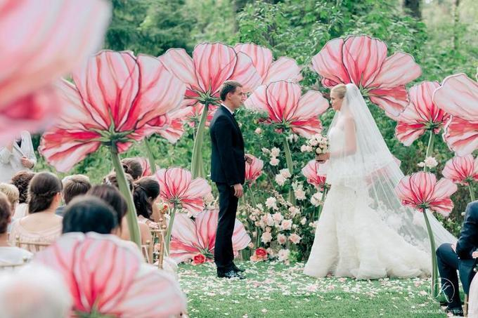 ростовые цветы ндля свадьбы