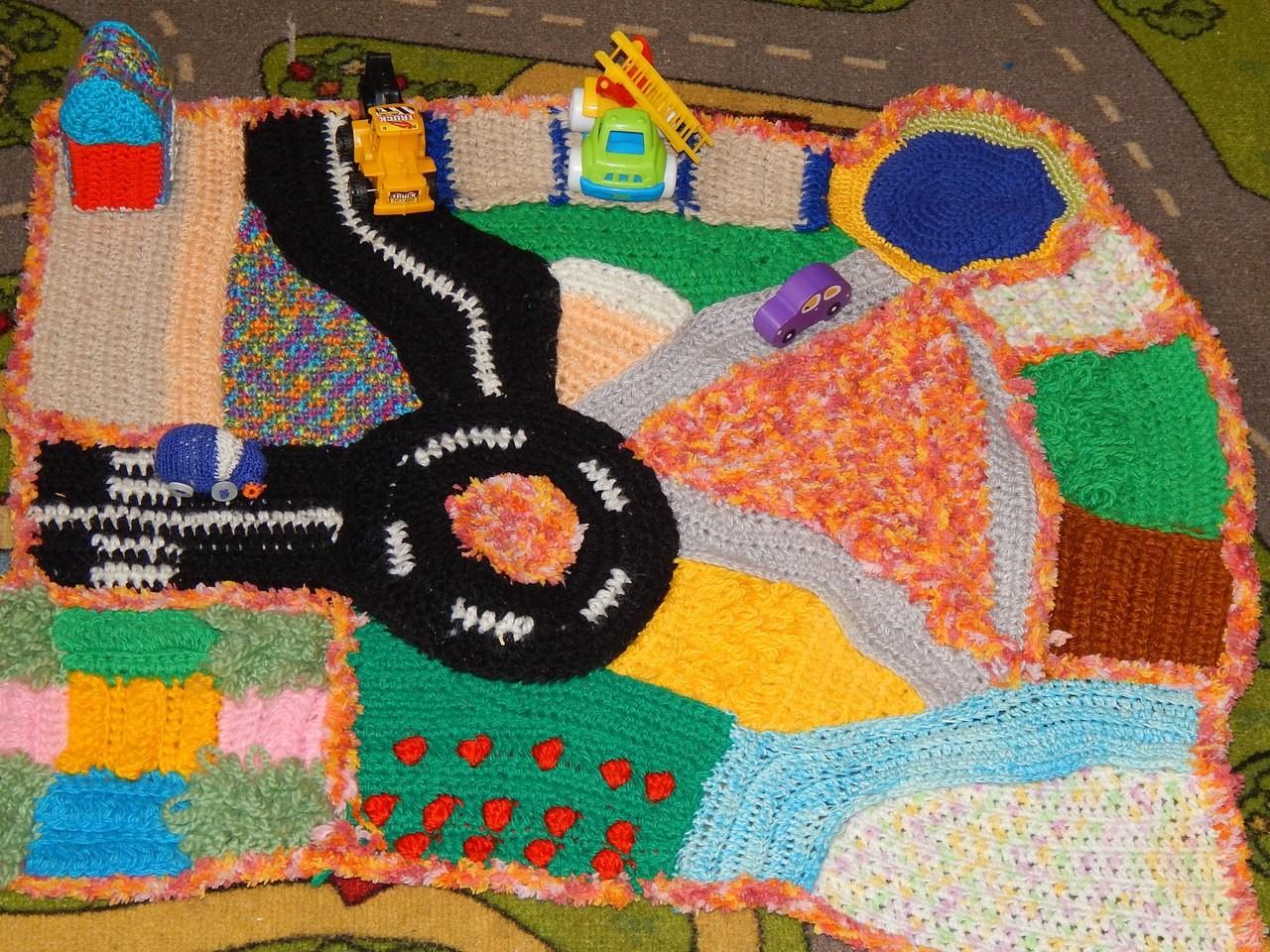 Сенсорные коврики для детей до года своими руками фото 123