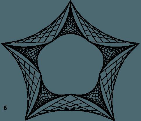 звездочка нитями