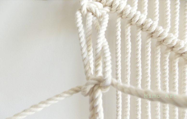 связываем 4 веревки