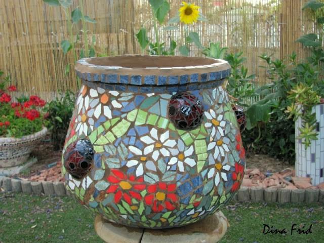 Мозаичная чаша