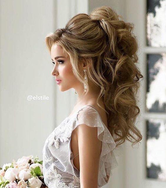 прическа невесты мальвина