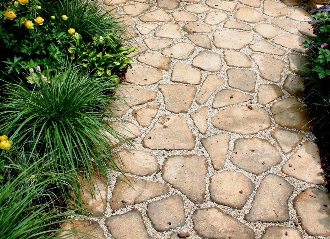 Классическая каменная мозаика