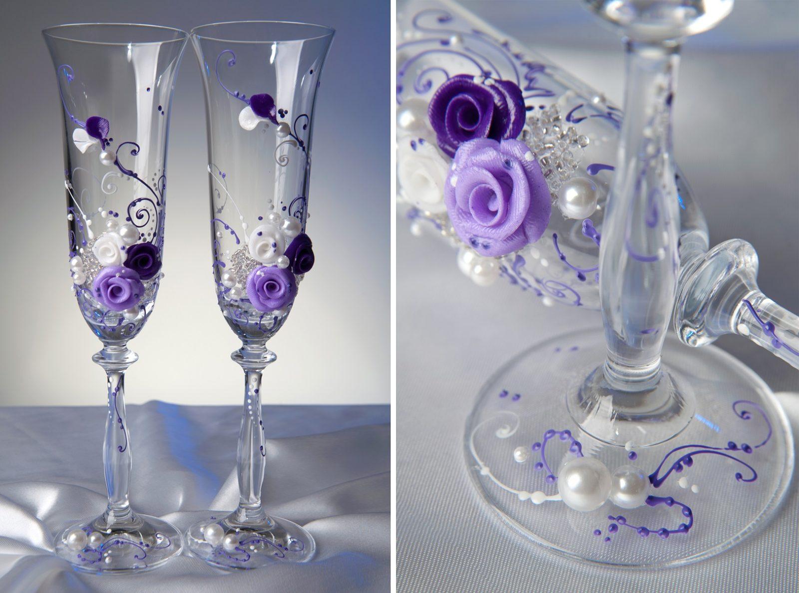 Для фиолетовой свадьбы