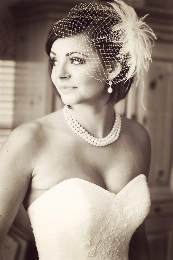 прическа невесты с вуалью