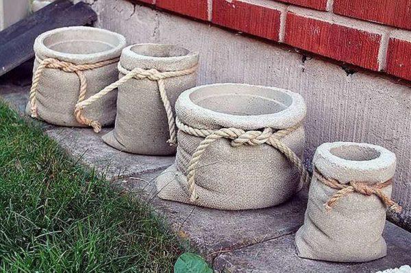 бетонные мешочки