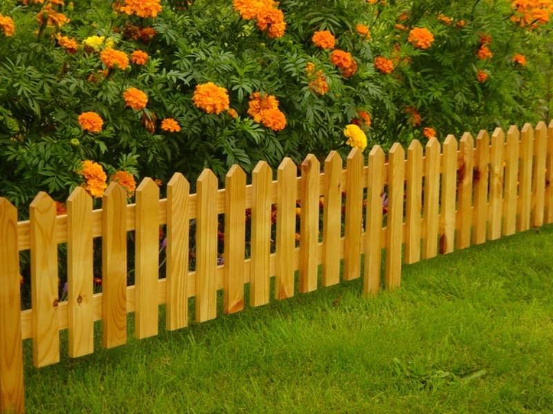 Мини-оградка для клумбы