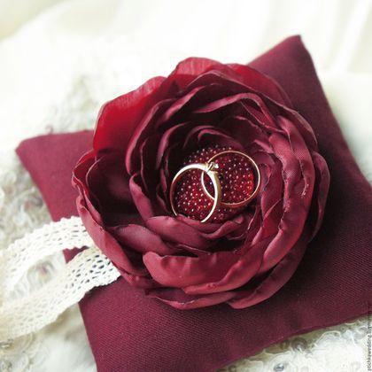 подушечка-роза