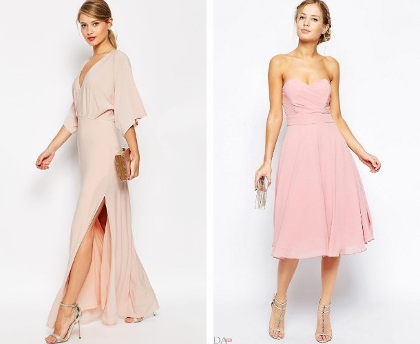 элегантное платье на бал