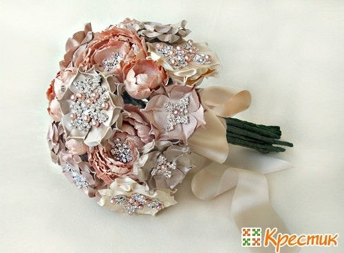 Секреты по изготовлению букета невесты как свадебного оберега