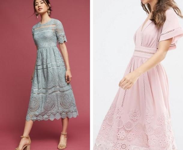 кружевное платье смотрятся просто восхитительно