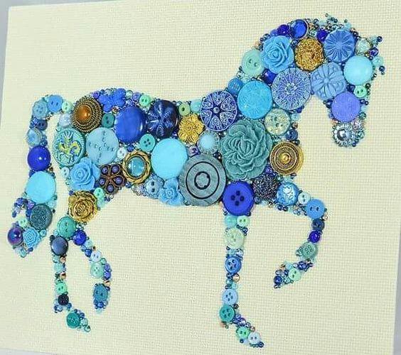 Статная лошадка