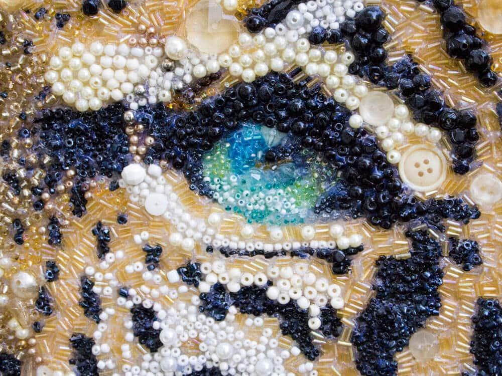 глаз леопарда