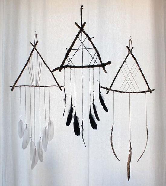 Ловцы снов из перьев и веток