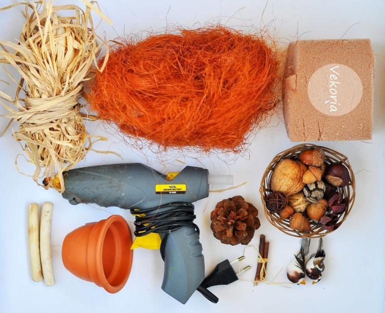 инструменты для поделок из природного материала