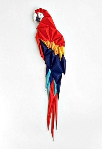 Пестрый попугай