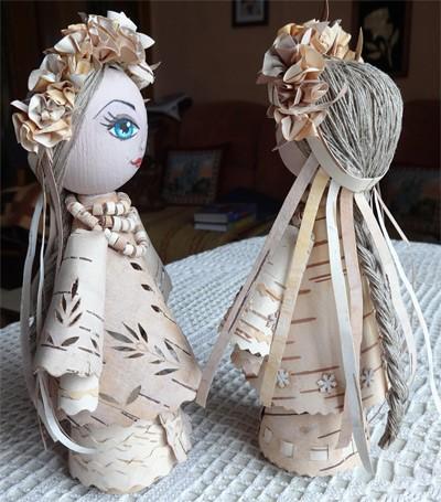 Кукла из бересты