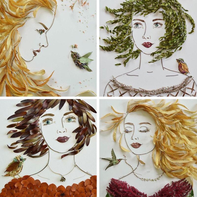 портреты Осени