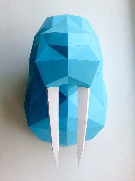 Голова моржа