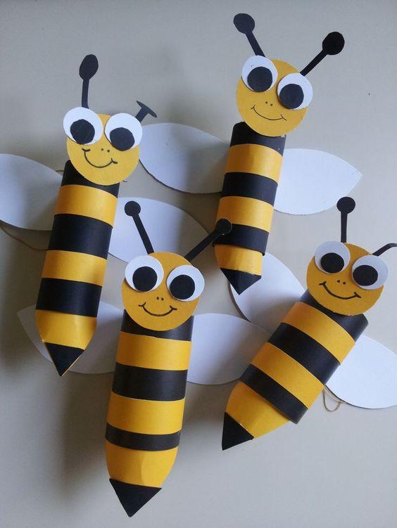 поделка для детсада пчелка