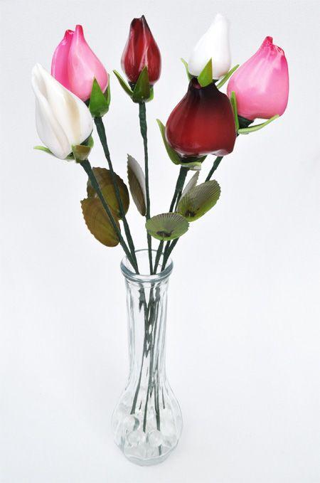 букет цветов из ракушек
